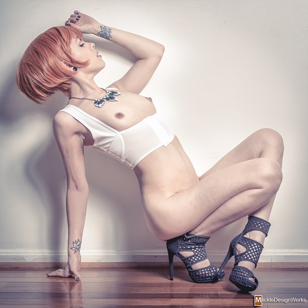 Studio Lighting Fashion Photo by Model EchoManika