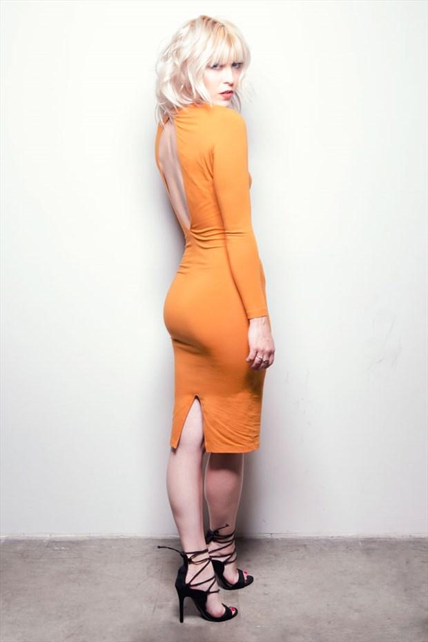 Studio Lighting Fashion Photo by Model Erika Apelgren