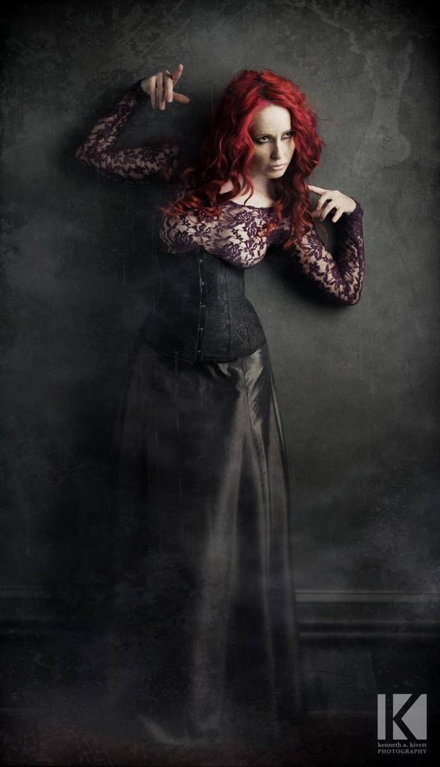 Studio Lighting Gothic Photo by Model Nina Covington