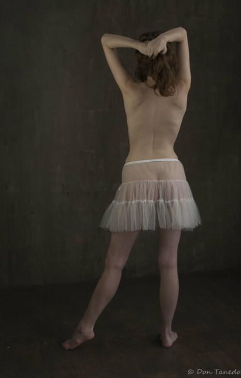 Studio Lighting Implied Nude Photo by Model FauneAddams