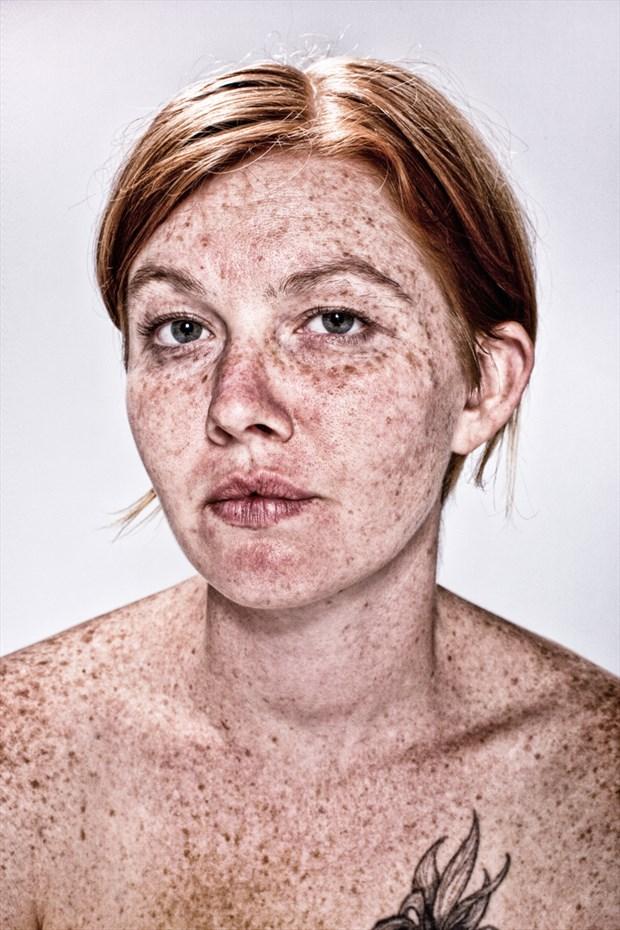Studio Lighting Implied Nude Photo by Photographer Kelly Rae Daugherty