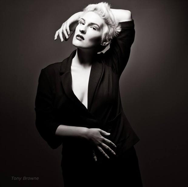 Studio Lighting Photo by Model Adara Saeth
