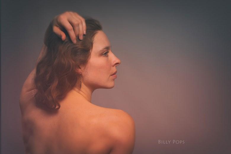 Studio Lighting Photo by Model Bianca Black