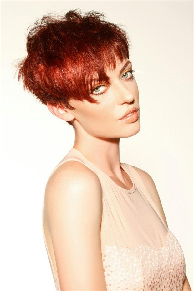 Studio Lighting Portrait Photo by Model Marissa Merrill