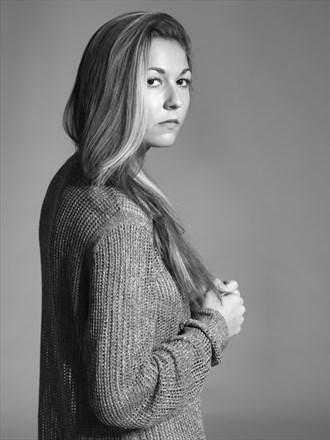Studio Lighting Portrait Photo by Model Mia Bartlett