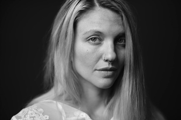 Studio Lighting Portrait Photo by Model Satya