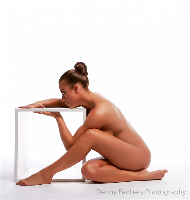 Studying the box Artistic Nude Photo by Model Ceara Blu