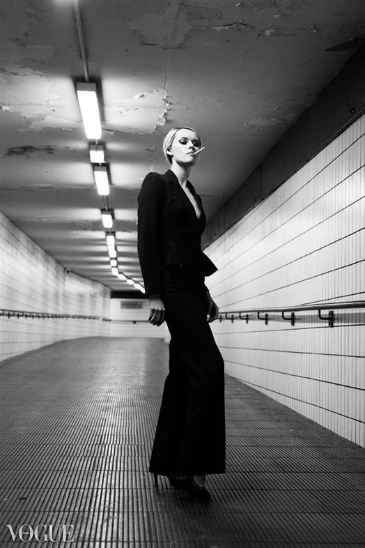 Subway Fashion Photo by Photographer Adrian Crook