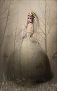 Sullen Surreal Artwork by Model Jill Liebisch