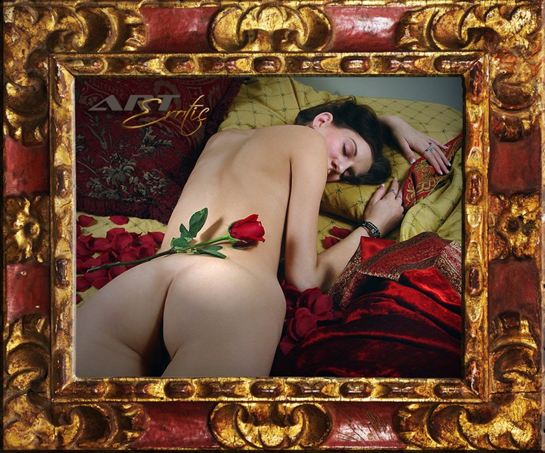 Summer with Roses  Artistic Nude Photo by Photographer ArtErotic