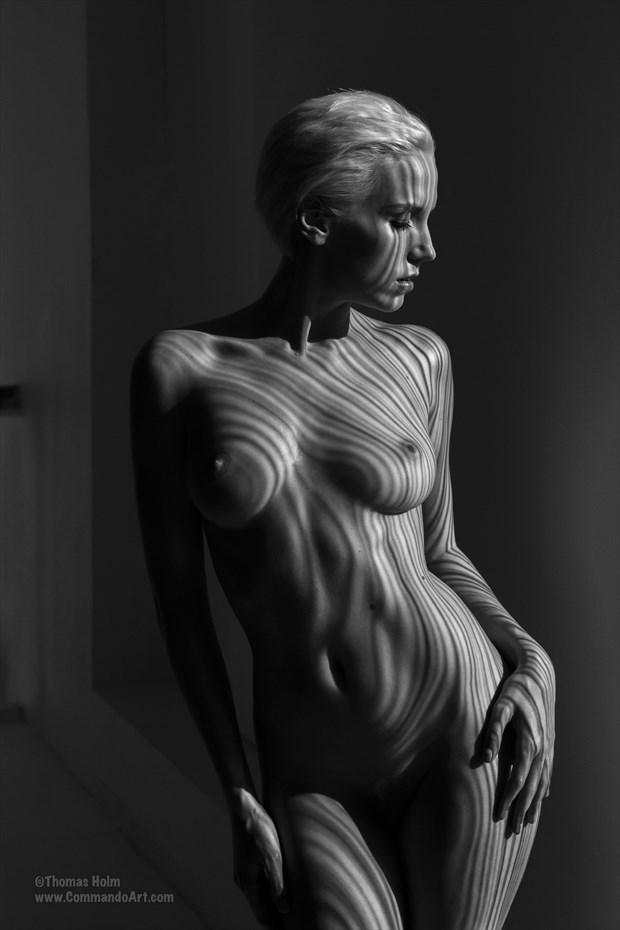 Sun stripes Artistic Nude Photo by Model Jasmine Sundstr%C3%B6m