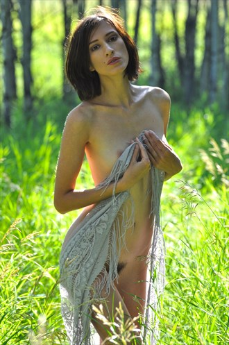 Sunny Meadow Artistic Nude Photo by Photographer LoneWolfMedia