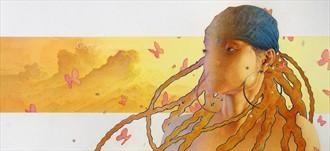 Sunrise Fantasy Artwork by Artist jart64