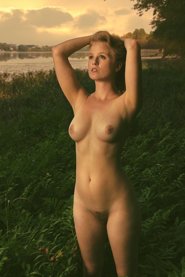 Sunset Artistic Nude Photo by Photographer Fischer Fine Art