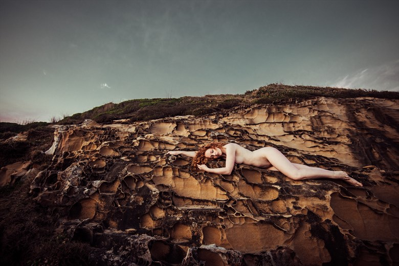 Sunset Artistic Nude Photo by Photographer Mike Stacey