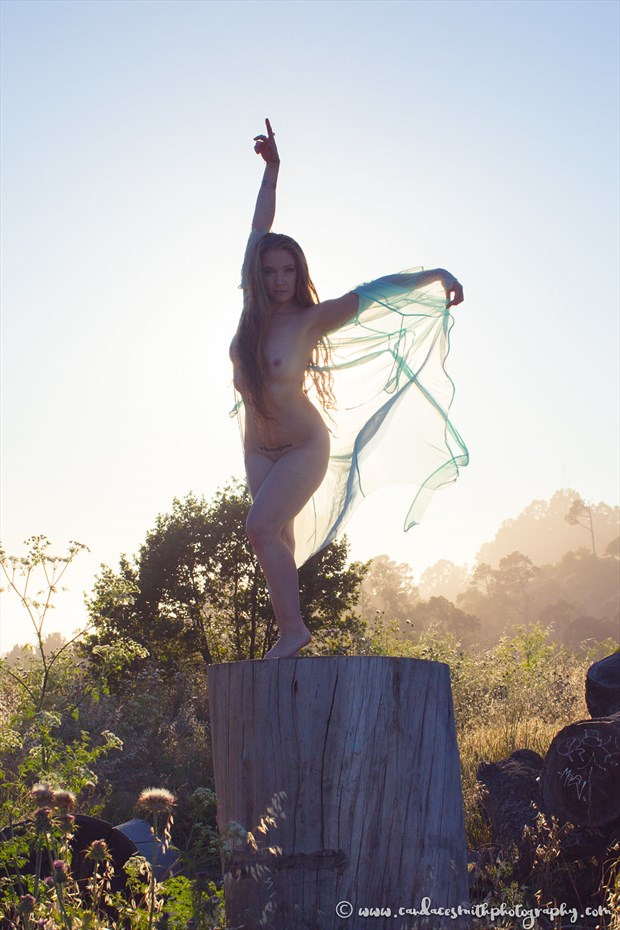 Sunset Rising Artistic Nude Photo by Model AnudeMuse