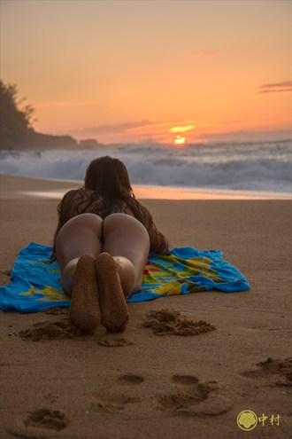 Sunset at Secrets Bikini Photo by Photographer Jello_Shooter