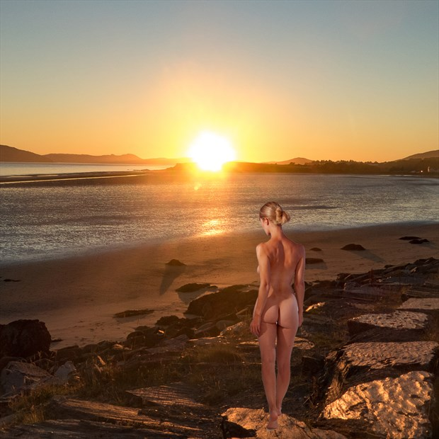 Sunset at Stagil Artistic Nude Photo by Photographer BarleyFields