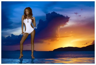 Sunset at U.S.V.I Lingerie Photo by Photographer OutVision