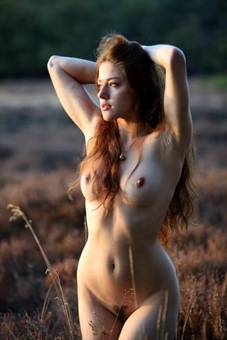 Sunset beauty Artistic Nude Photo by Model Joy Draiki