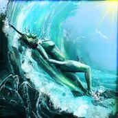 Super Bloom 5 Artistic Nude Artwork by Artist Nick Kozis