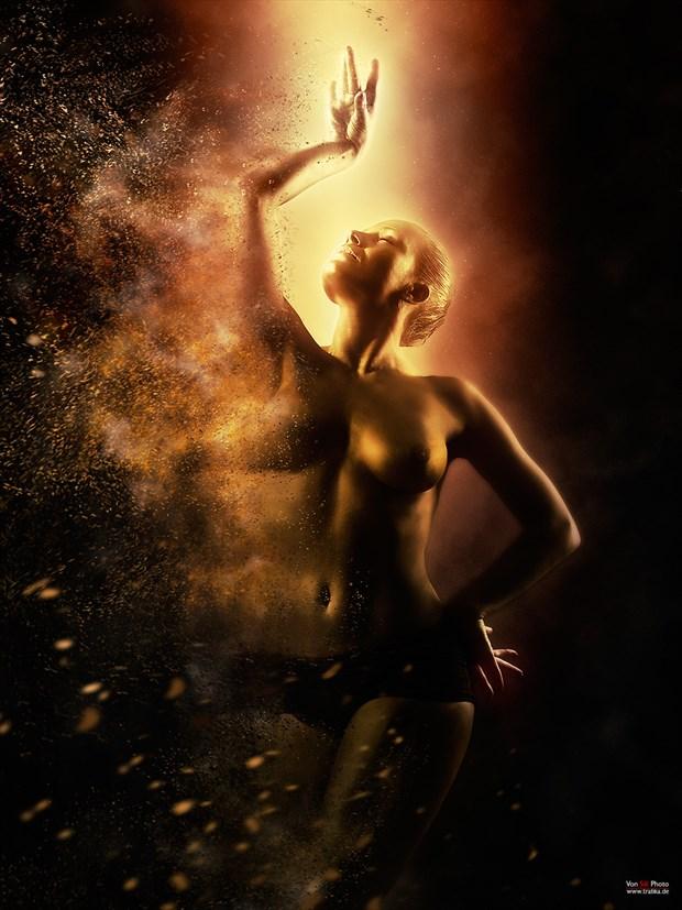 Supernova Erotic Artwork by Photographer Von Sel Photo