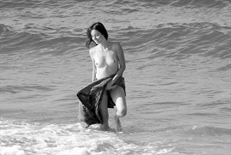Surf play, Nauset Beach Artistic Nude Photo by Photographer silverline images