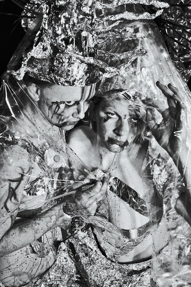 Surreal Alternative Model Photo by Photographer Kelly Rae Daugherty