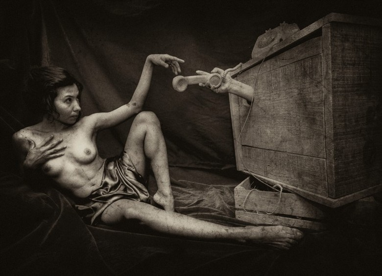 Surreal Erotic Artwork by Artist Giovanni Tilotta