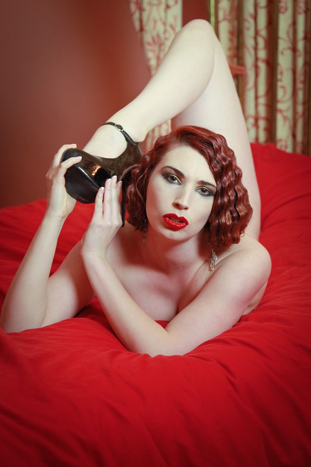 Surreal Erotic Photo by Model Roswell Ivory