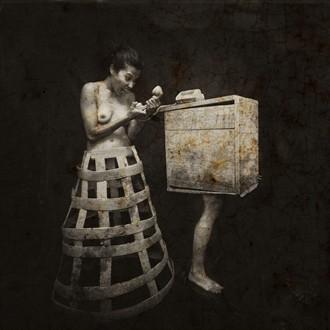Surreal Experimental Artwork by Artist Giovanni Tilotta