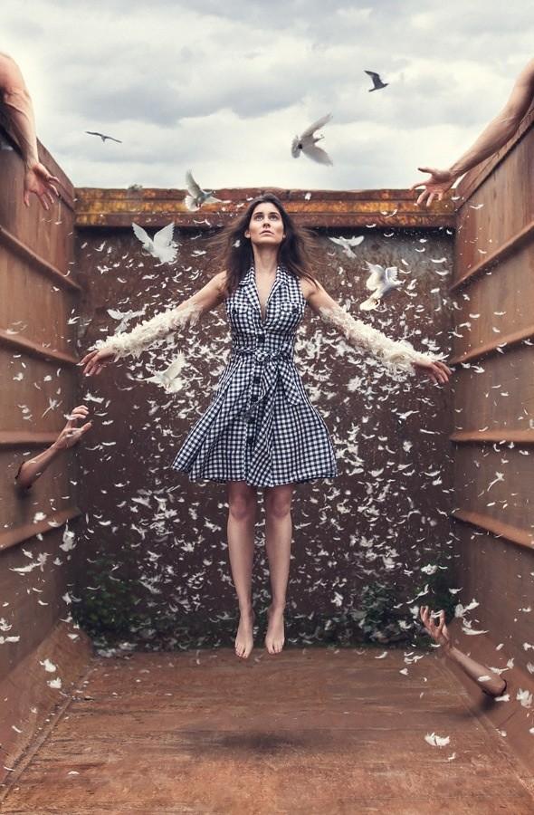 Surreal Fashion Photo by Model Camilla Rose