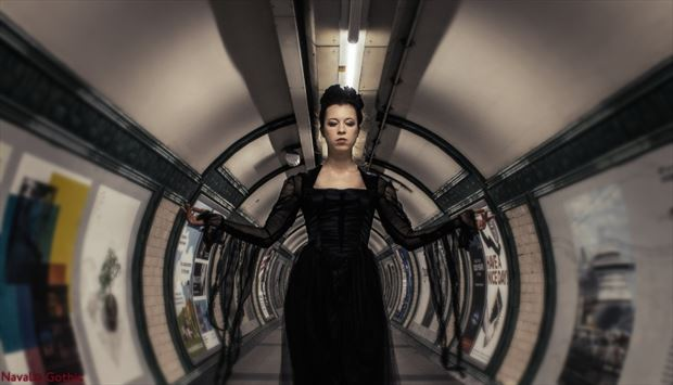 Surreal Gothic Photo by Model Lorelai