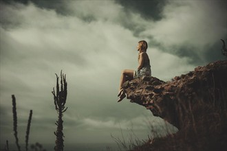 Surreal Sensual Photo by Model Alleria