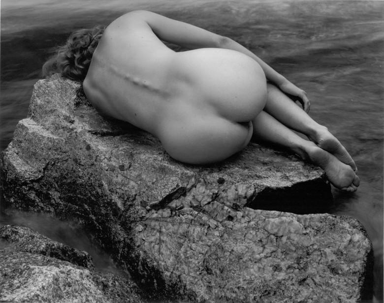 Susan Nude at Boulder Creek %231 Nature Photo by Photographer Thomas Scalf