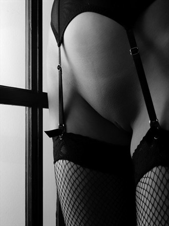 Suspenders and Glass Erotic Photo by Photographer mephotography