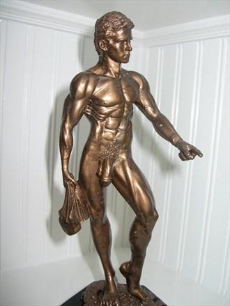 Swimmer Artistic Nude Artwork by Artist Robert Cottrell