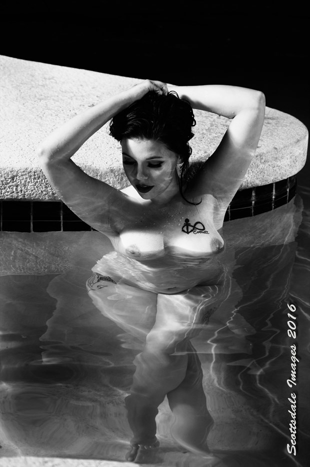 Swimming Artistic Nude Photo by Photographer Scottsdale Images