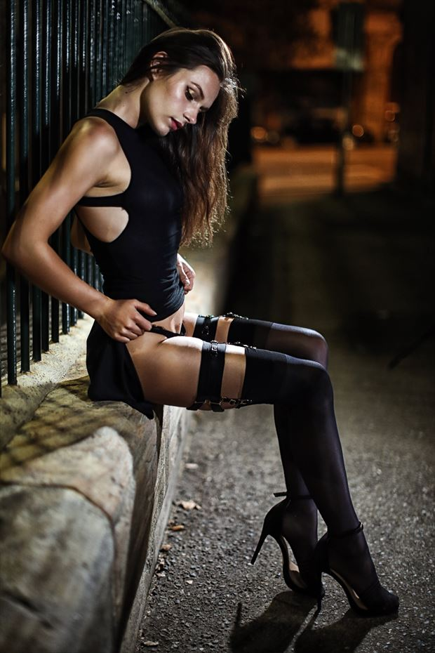 Sydney Streets by Visual Dimensions Lingerie Photo by Model Sass Kia