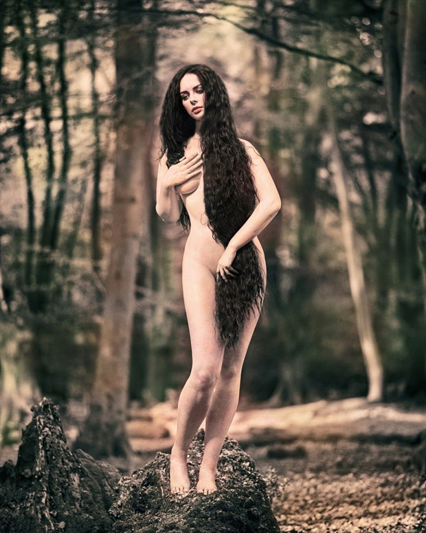 Sylvan Venus Artistic Nude Photo by Photographer RayRapkerg