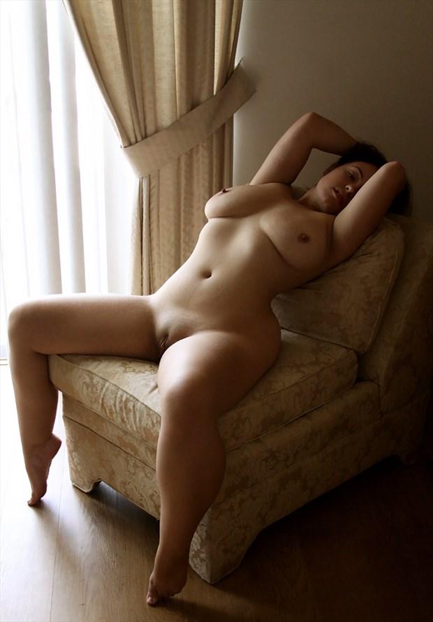 Sylvia Bennett Artistic Nude Artwork by Photographer Rick Gordon