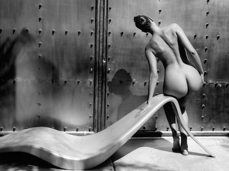 Sylvie's Lounge Artistic Nude Photo by Photographer Kim Weston