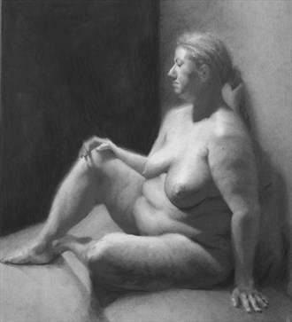 T Artistic Nude Artwork by Artist JFisher86