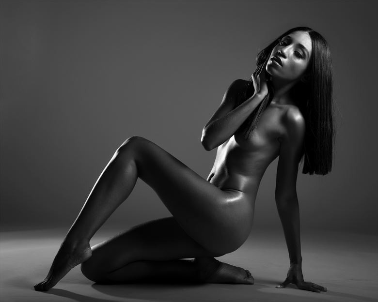 T patton Artistic Nude Photo by Model Aly Jhene