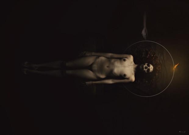 TERRIBILIS EST LOCUS ISTE ET PORTA COELI Artistic Nude Artwork by Artist pierre fudaryl%C3%AD
