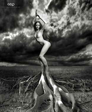 TREE LIFE Artistic Nude Artwork by Artist GonZaLo Villar