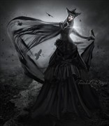 Tainted Wings Fantasy Artwork by Artist ImaginaryRosse