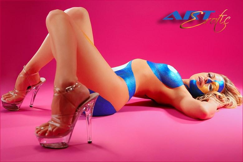 Tara Body Paint  Artistic Nude Artwork by Photographer ArtErotic