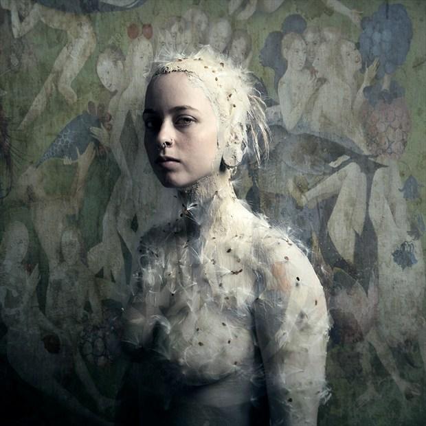 Taryn Artistic Nude Artwork by Photographer Bear Kirkpatrick