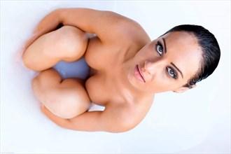 Tash Bath Pose Artistic Nude Photo by Photographer Lylesimes
